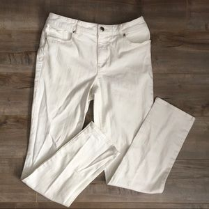 Chico's So Lifting Jeans in White